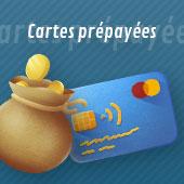 Les cartes de crédit et les cartes prépayées